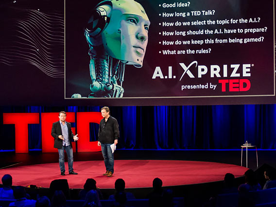 The XPRIZE + TED AI challenge