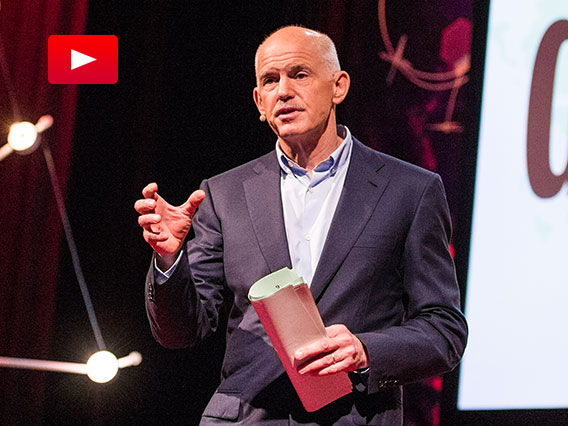 George Papandreou: Imagine a European democracy without borders