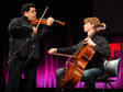"Robert Gupta + Joshua Roman: On violon and cello, ""Passacaglia"""