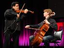 "Robert Gupta + Joshua Roman: On violon and cello, ""Passacaglia"""