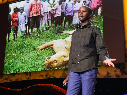 TED: Richard Turere: My invention that made peace with lions - Richard Turere (2013)