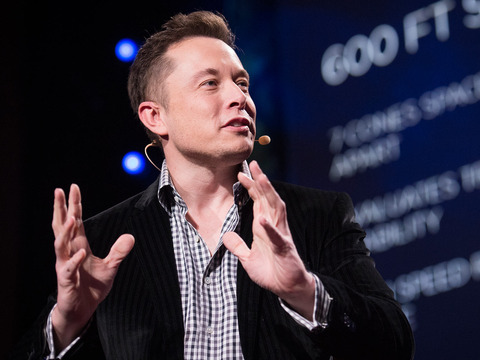 TED: Elon Musk: The mind behind Tesla, SpaceX, SolarCity ... - Elon Musk (2013)