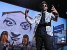 JR's TED Prize wish: Use art to turn the world inside out