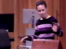 Pamelia Kurstin plays the theremin