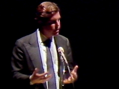 Nicholas Negroponte, in 1984, makes 5 predictions