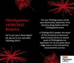 TEDxRigaSalon