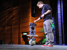 Péter Fankhauser: Meet Rezero, the dancing ballbot