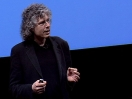 Steven Pinker rechnet ab auf dem unbeschriebenen Blatt.