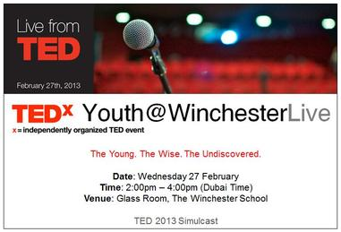 TEDxYouth@WinchesterLive
