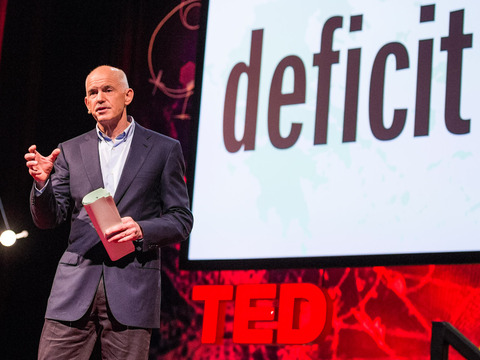 TED: George Papandreou: Imagine a European democracy without borders - George Papandreou (2013)