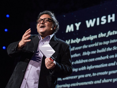 Sugata Mitra: Build a School in the Cloud | Video on TED.com