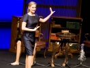 Aimee Mullins and her 12 pairs of legs