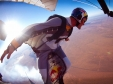 Ueli Gegenschatz soars in a wingsuit
