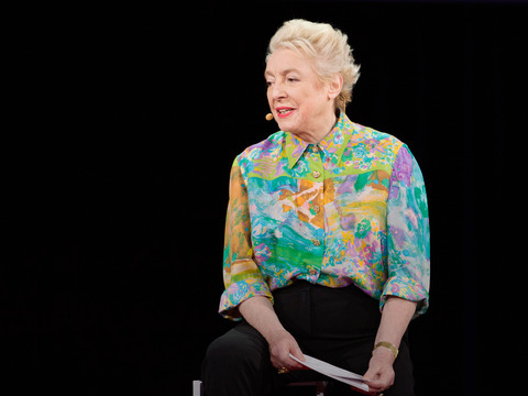 Dame Stephanie Shirley: Why do ambitious women have flat heads?