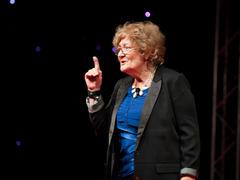 Patricia Ryan: Don't insist on English!
