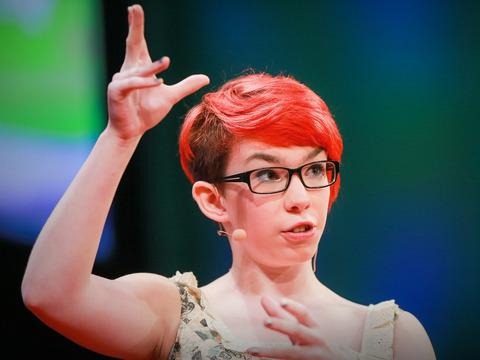TED: Rosie King: How autism freed me to be myself - Rosie King (2014)