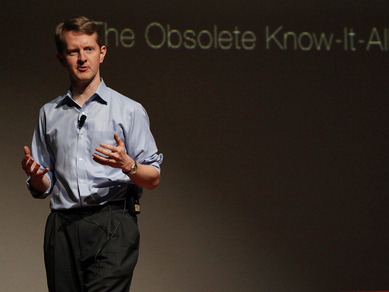 Ken Jennings: Watson, Jeopardy and me, the obsolete know-it-all | Video on TED.com