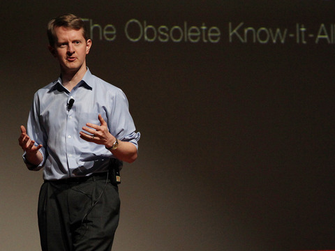 TED: Ken Jennings: Watson, Jeopardy and me, the obsolete know-it-all - Ken Jennings (2013)
