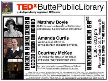 TEDxButtePublicLibrary