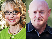 Gabby Giffords and Mark Kelly image