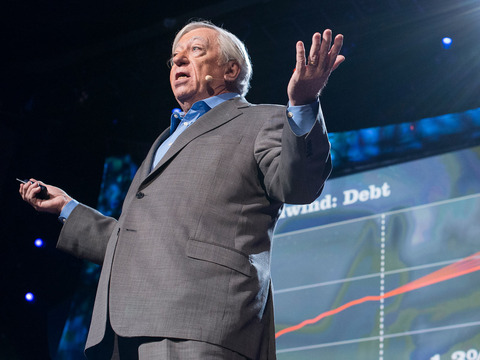 TED: Robert Gordon: The death of innovation, the end of growth - Robert J. Gordon (2013)