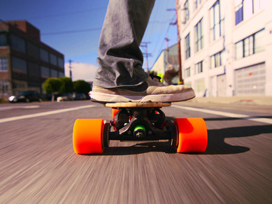Sanjay Dastoor: A skateboard, with a boost | Video on TED.com