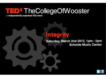 TEDxTheCollegeOfWooster
