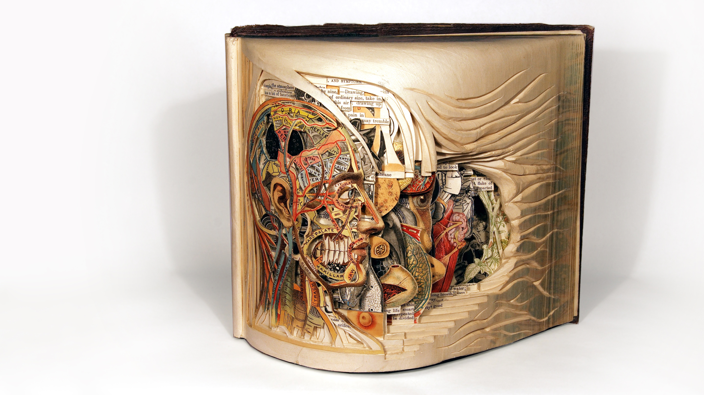 Brian Dettmer: Old books reborn as intricate art thumbnail