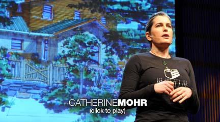 Catherine Mohr costruisce in modo verde