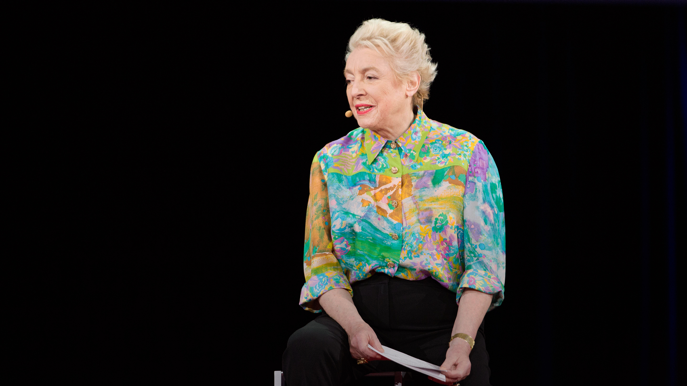 Dame Stephanie Shirley: Why do ambitious women have flat heads? thumbnail