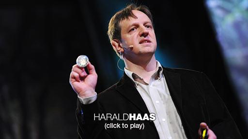 Harlad Haas: Segnale wireless da ogni lampadina