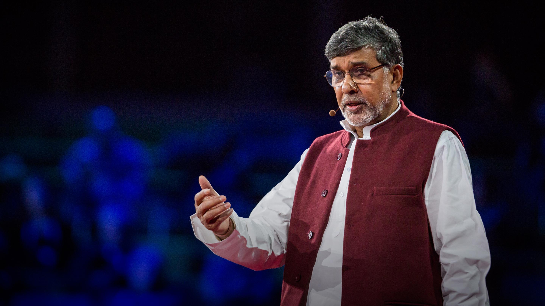Kailash Satyarthi: How to make peace? Get angry thumbnail