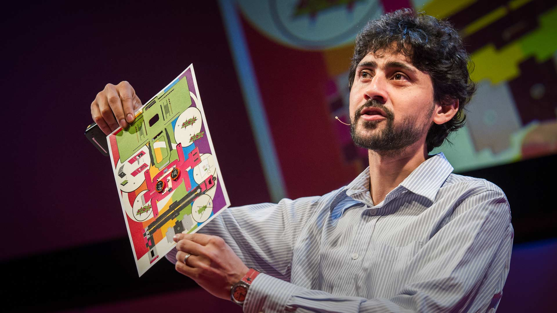 Manu Prakash: A 50-cent microscope that folds like origami thumbnail