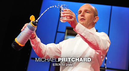 Michael Pritchard trasforma acqua sporca in potabile