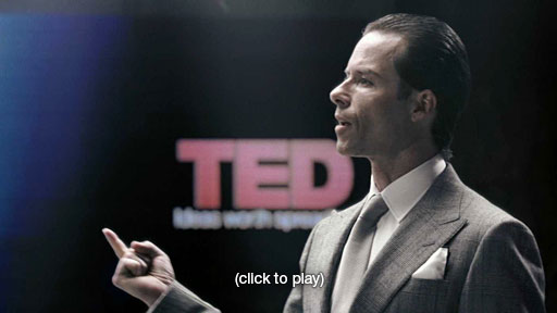 PROMETHEUS : Peter Weyland TED Talk in 2023