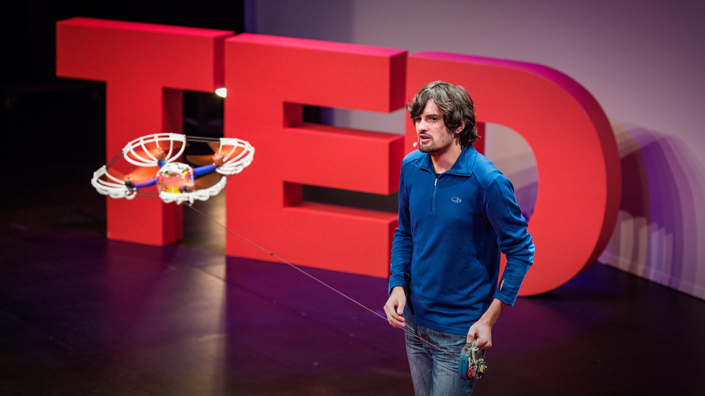 Sergei Lupashin: A flying camera ... on a leash thumbnail