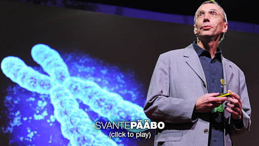 Svante Paabo: DNA clues to our inner neanderthal